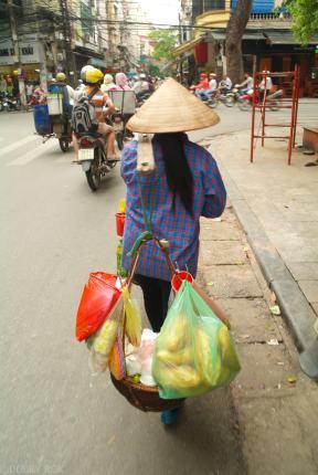 Transport w Hanoi Wietnam (1)