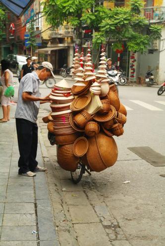 Transport w Hanoi Wietnam