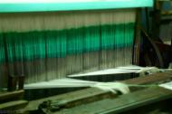 W fabryce jedwabiu Da Lat