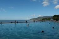 Widok z naszego hostelu w Cairns