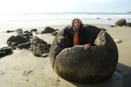 Wybrzeze Otago Moeraki Boulders (3)