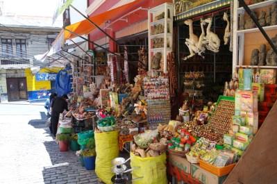 Targ czarownic w La Paz (2)