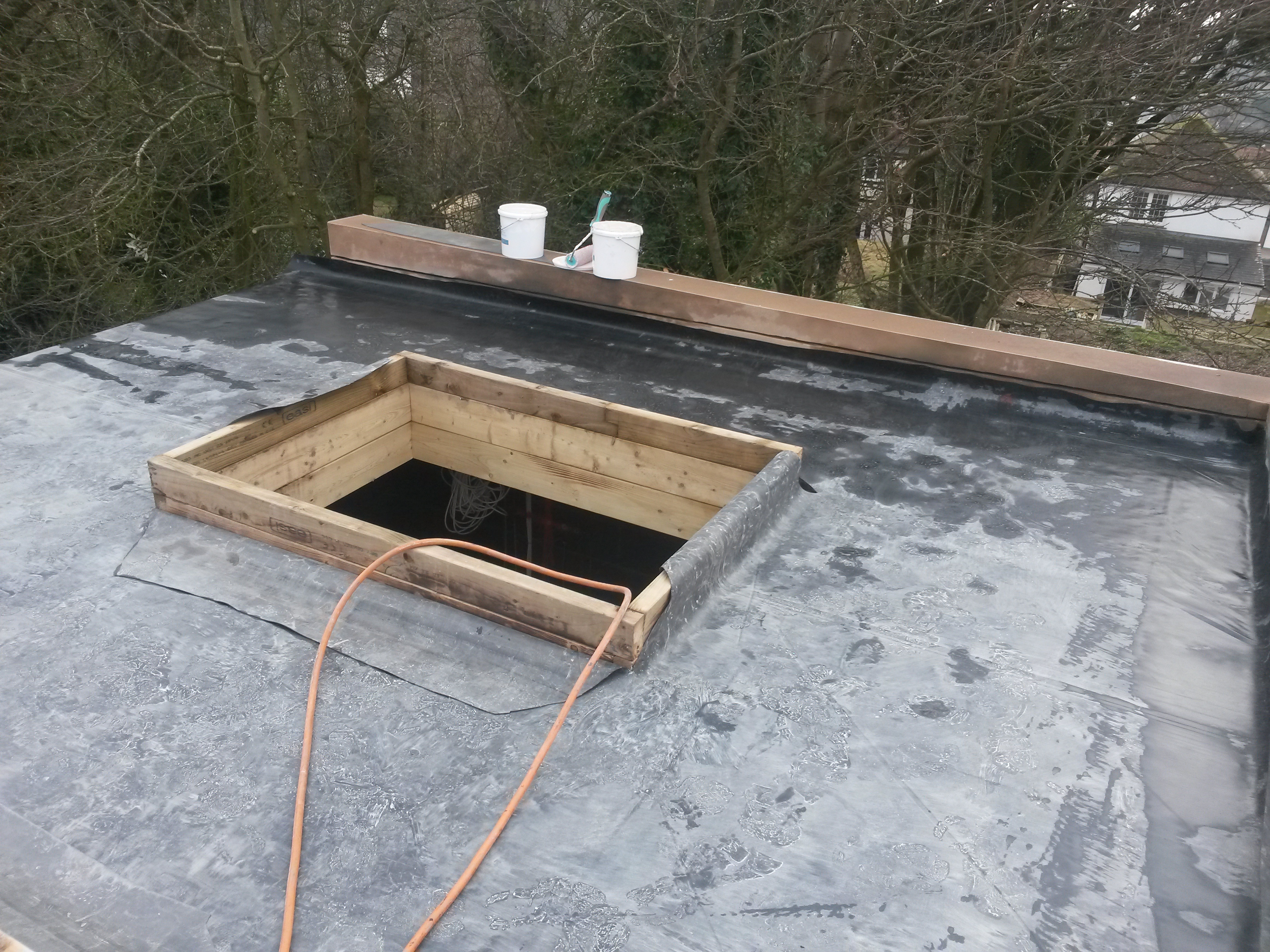 Epdm Flat Roof Dome Skylights Ds778 Dobson Amp Son Ltd
