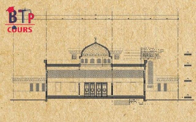 Plan Mosquée + Détails (DWG)