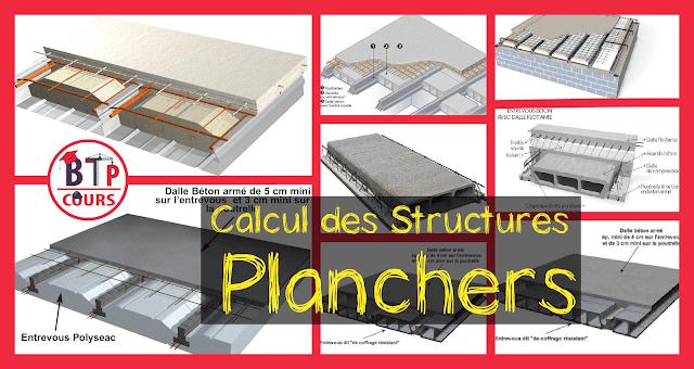 Calcul des Structures - Planchers