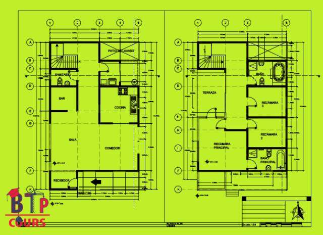 Plan Archi N 029 Villa Doc Genie Civil