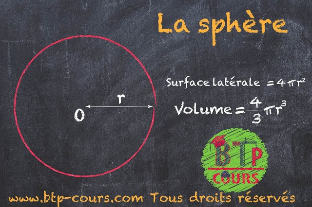 Calcul des volumes et surfaces latérale