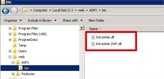 Bin Folder Files