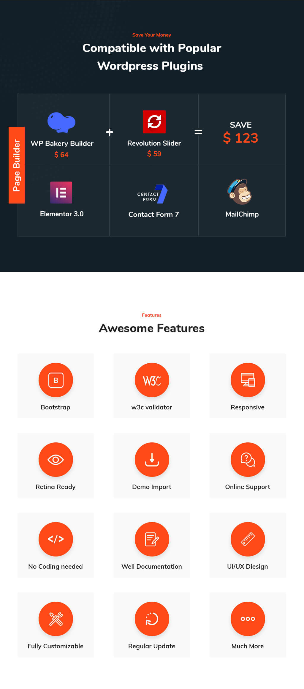 Kenray –Consulting Business WordPress Theme for insurance agency