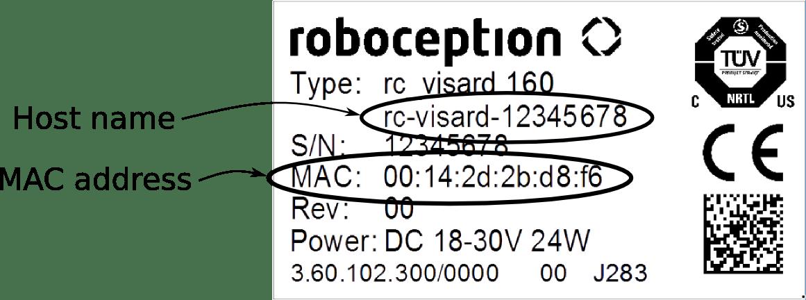 Installation — rc_visard 1.0.5 documentation
