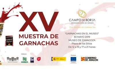 """LA DOP CAMPO DE BORJA CELEBRARÁ LA XV EDICIÓN DE SU """"MUESTRA DE GARNACHAS"""""""