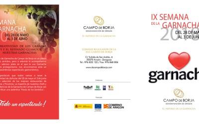 IX Semana de la Garnacha en los Restaurantes de Zaragoza y provincia