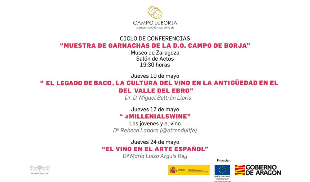 """Ciclo de Conferencias """"Muestra de Garnachas de la DO Campo de Borja"""""""