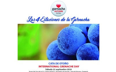 Cata de Otoño 2018 – International Grenache Day