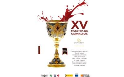 CONVOCATORIA DE MEDIOS XV MUESTRA DE GARNACHAS (Jueves 30 de mayo)