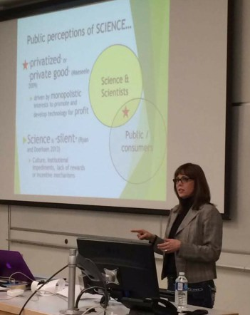 presentation at MB U