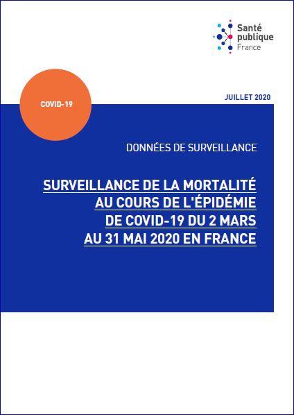 Surveillance de la mortalité au cours de l'épidémie de COVID-19 du 2 mars au 31 mai 2020 en France.