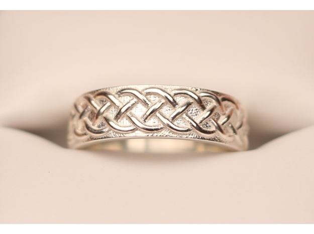 Celtic Knot Wedding Ring Braid DO Celtic Jewelry