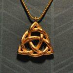 The Celtic Triquetra is perhaps the most famous of the Celtic symbols