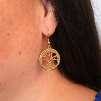 Celtic Tree of Life Earrings