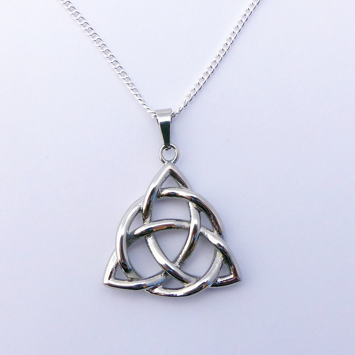 Trinity Knot Necklace Or Celtic Triquetra Do Celtic Jewelry