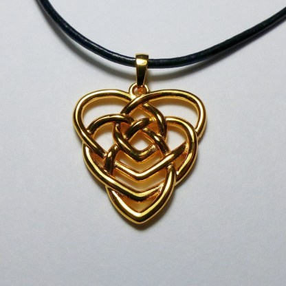 Brass Motherhood Knot