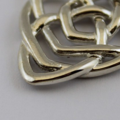 Motherhood Knot 925 Silver Hallmark