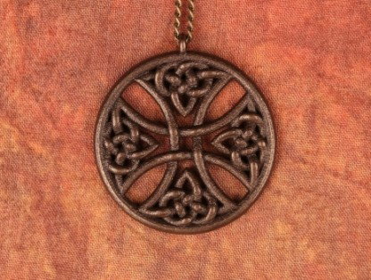 Warrior Cross Pendant