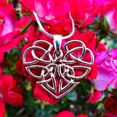 Heart Celtic Knot Necklace
