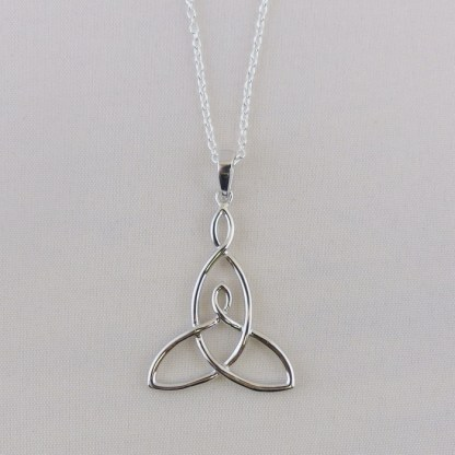 Mother and Child Knot Silver