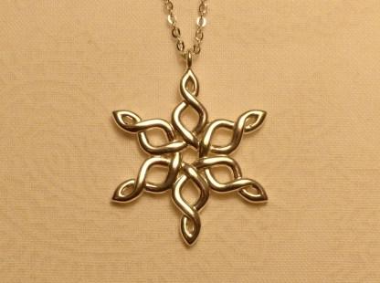 Snowflake 30mm Premium Silver