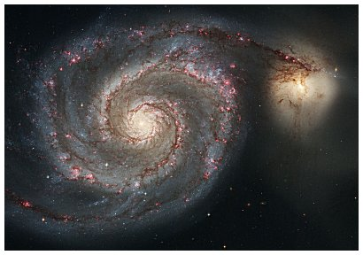 the golden ratio whirlpoolgalaxie