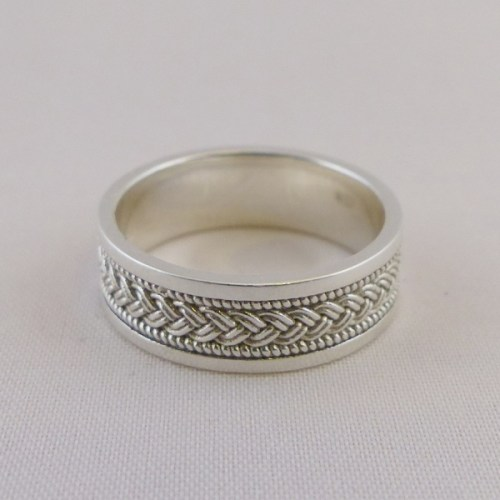 Braided Celtic Knot Ring