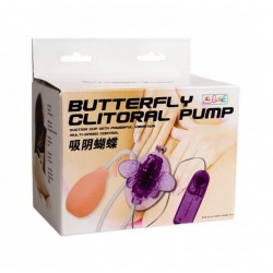 Estimulador Butterfly Clitoral Pump – Roxo
