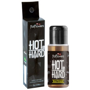 HOT HARD GEL EXCITANTE MASCULINO 13G HOT FLOWERS