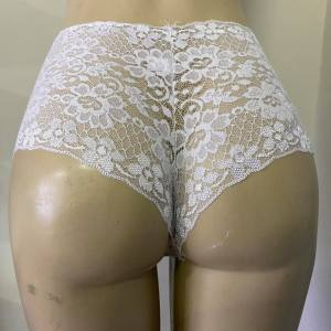 Calcinha Calesson Renda Lingerie – Branca