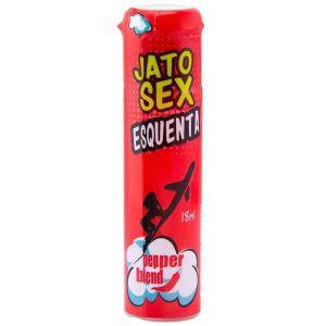 JATO SEX ESQUENTA EXCITANTE 18ML PEPPER BLEND –  validade 10/2021