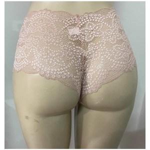 Calcinha Calesson Renda Lingerie – Rosa Nude