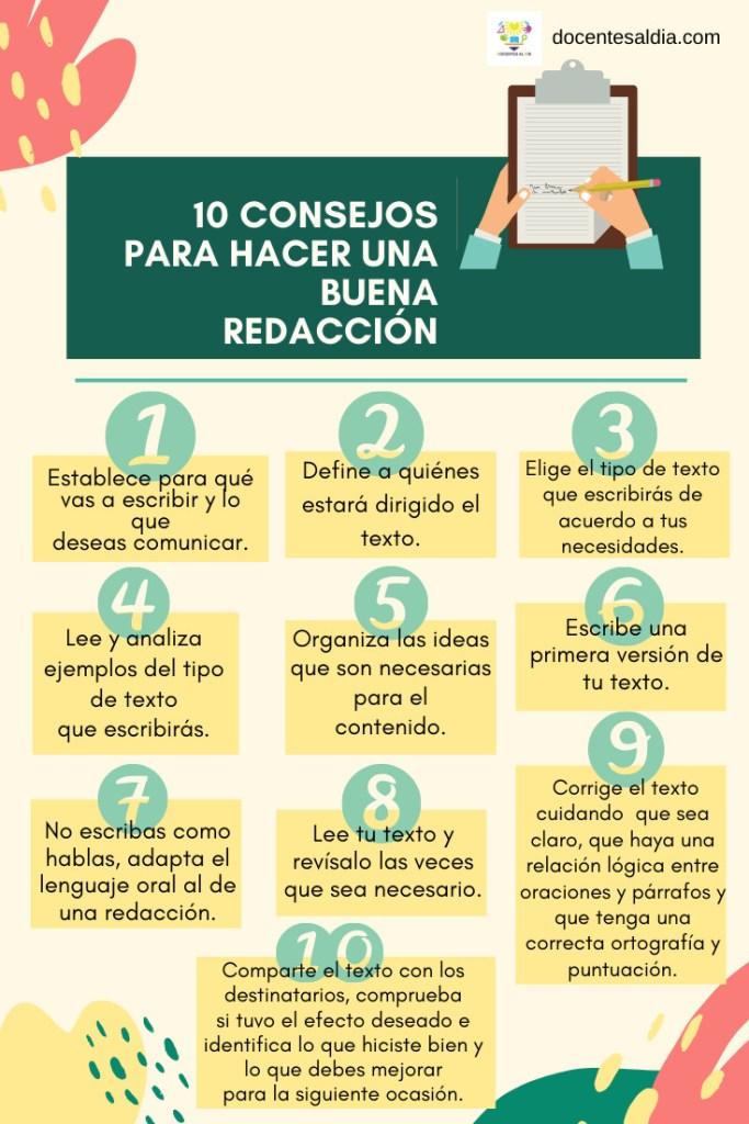 10 consejos para hacer una buena redacción