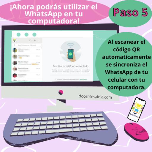Cómo usar el WhatsApp en la computadora 1