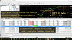 Советник D-FX Super Setka +200% (6372$) за 1 день