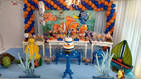 Procurando Nemo- Pacote Doce Majestade
