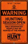 """Trailer do Dia"" THE HUNT"