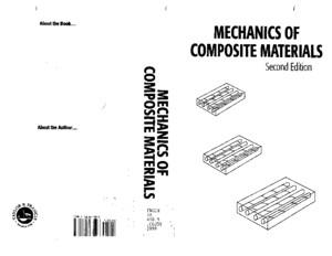 Engineering Mechanics of Composite Materials I Daniel O