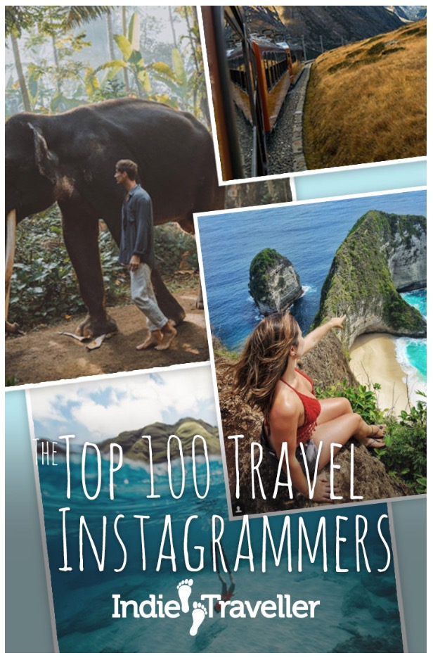 Featured in The Ultimate Top 100 of Travel Instagram Accounts