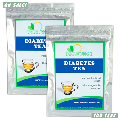 2x Diabetes Teas™ | Dr. Gosh