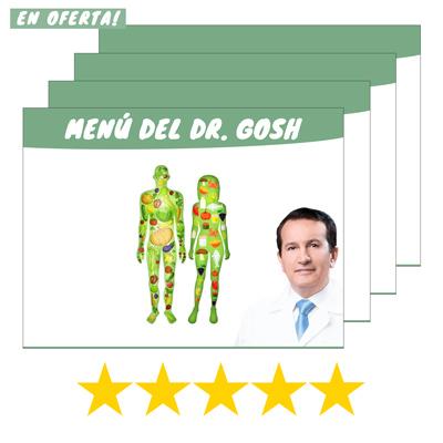 MENÚ DEL DR. GOSH