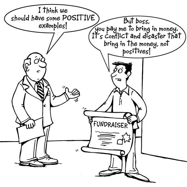 Using cartoons to Communicate Development Dochasnetwork