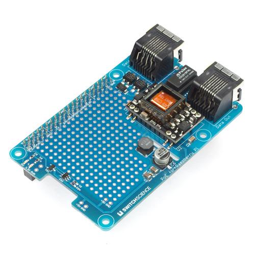 Raspberry Pi用PoE基板