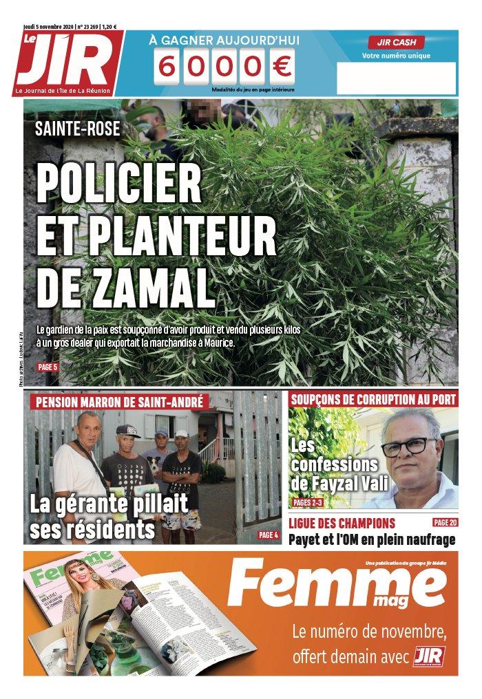 Le Journal De L Ile De La Reunion : journal, reunion, Journal, L'île, Réunion, N°23269, Novembre, Télécharger